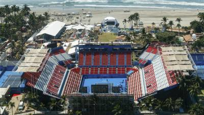 Acapulco, a high level event with around much violence