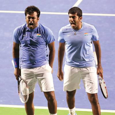 Leander Paes and Rohan Bopanna named in Davis Cup Squad