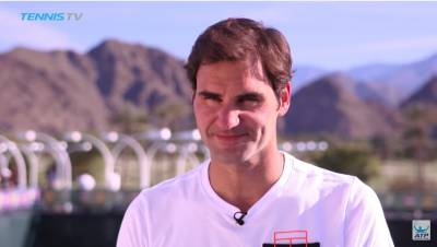 Federer Happy To Be Back In Indian Wells