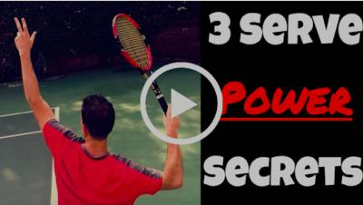 Do you want EASY power on your serve?