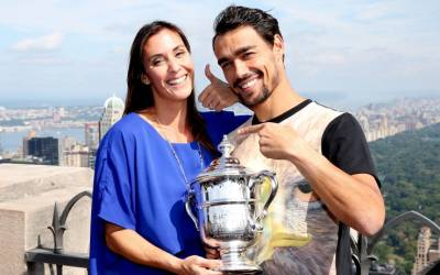 Flavia Pennetta: 'When I watch Fognini playing, I get anxious!'