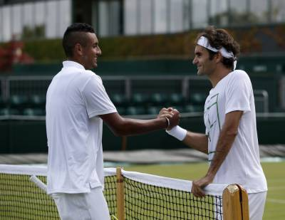 Nick Kyrgios: 'Roger Federer is the GOAT, he is a great role model'