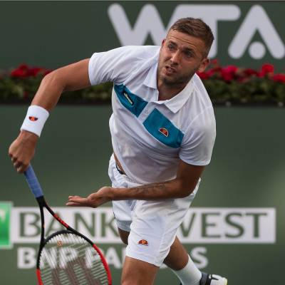 Dan Evans won't buy clothes at the shop anymore: he signed with Ellesse