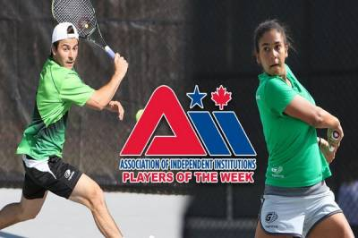 Federico Herrera Duran and Margarida Abreu are A.I.I.'s Players of the Week