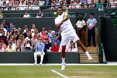 Nick Kyrgios will prove a big thing to Todd Woodbridge if he beats Roger Federer at Indian Wells