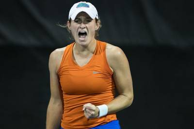 ITA Division I Women's Rankings - March 14, 2017: Florida is just ahead of Ohio State at the top