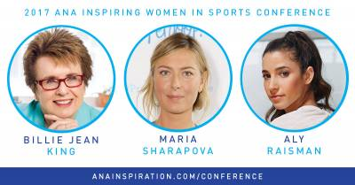 Billie Jean King and Maria Sharapova to attend ANA Inspiration Women in Sports Conference