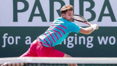 Third seed Stan Wawrinka is through to the BNP Paribas Open final