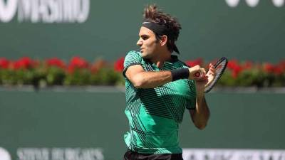 Federer beats Sock, Will Face Wawrinka