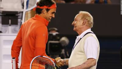 Roger Federer is today's GOAT, Rod Laver is the original GOAT! (PICS INSIDE)