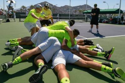 Baylor wins BNP Paribas Open Collegiate Tennis Challenge after amazing comeback against USC