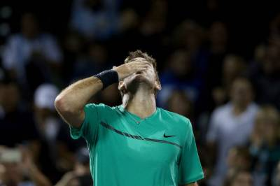 Del Potro: 'Federer is super favourite, no one played better than him this year'