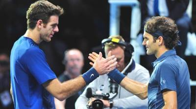 The five best matches of the Roger Federer and Juan Martin del Potro rivalry