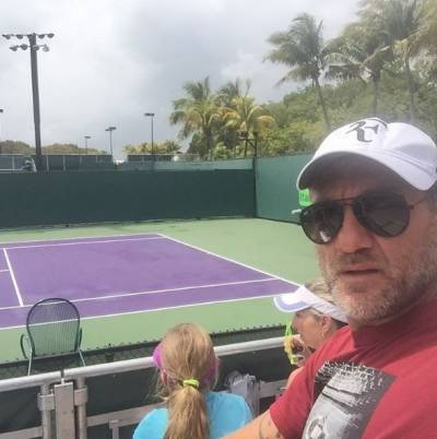 A famous former football star cheers for Fabio Fognini in Miami (VIDEO INSIDE)