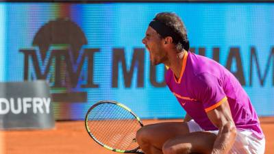 Rafael Nadal: 'Today I knew that circumstances were completely different than the past two years'