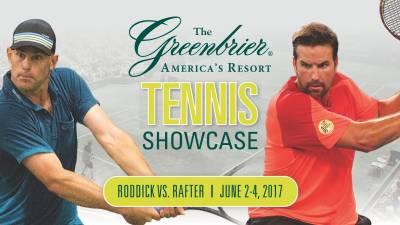 Andy Roddick and Pat Rafter to play an exhibition match in America