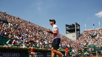 ROLAND GARROS MEN'S SINGLES: Murray edges Klizan. Nishikori wins too