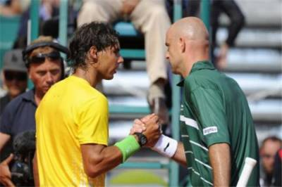 Ljubicic vs Rafael Nadal: Rafael continues to hinder me. Maybe it´s jealousy of my relationship with Roger Federer...