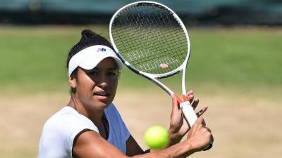 Wildcard Watson sinks 18th seed Sevastova