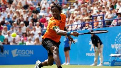 Monfils sees improvements in his grass-court game
