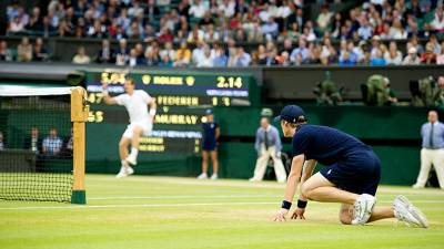 The invisible heroes: Wimbledon ballboys