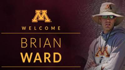 The University of Minnesota signs Brian Ward as women's assistant coach