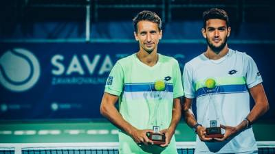 Title number 29 for Lu. Bublik, Pella and Stakhovsky lift trophies as well