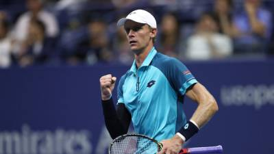 Is this the strongest Kevin Anderson ever seen?