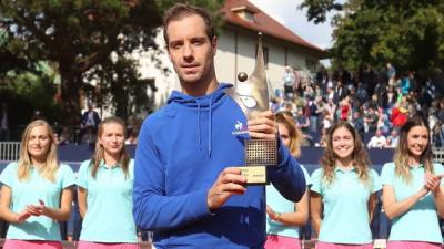 Gasquet wins first title in 7 years. Maiden one for King and Wu