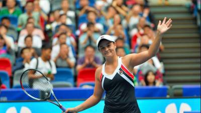 Ashleigh Barty storms into biggest career final — WTA Wuhan