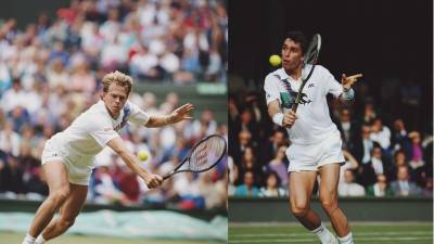 Edberg and Lendl's rivalry: up close, but not personal