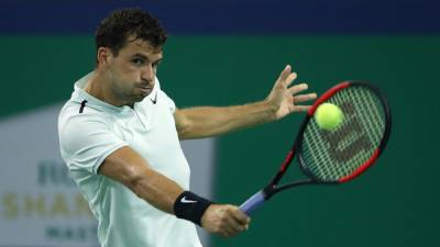 ATP Shanghai Dimitrov saves 3 MP's against Harrison! Zverev wins