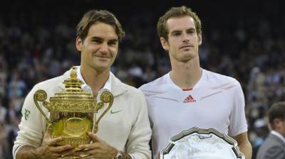 Do you want to get a tennis lesson by Murray and Federer? Now you can!