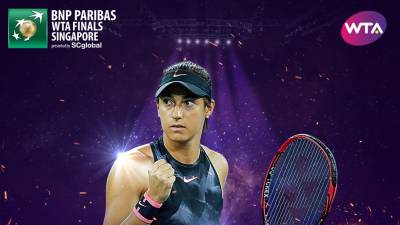 Caroline Garcia qualified for WTA Finals as Konta withdraws from Moscow