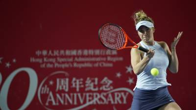 WTA Hong Kong: Jennifer Brady upsets Shuai Zhang, Qiang Wang advances
