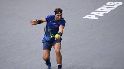 Nadal kicks off Paris quest with top rank
