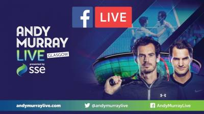 Here is where you can watch Murray vs Federer exhibition For Free
