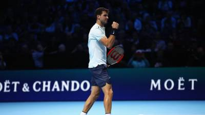 Dimitrov downs Thiem on ATP World Tour Finals debut