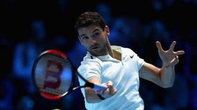 Grigor Dimitrov thumps David Goffin to remain ideal in London — ATP Finals