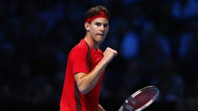 Dominic Thiem registers his first win — ATP finals