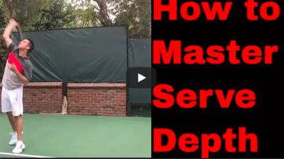 I don't have Depth Control on my Serve.....here the solution