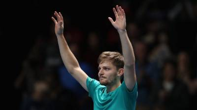 David Goffin becomes 6th player to beat Nadal and Federer at same event