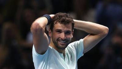 Deadly Dimitrov marches towards dream Federer final