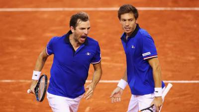 Noah cuts Mahut for Davis Cup final vs. Belgium