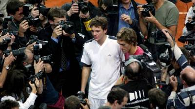 2002 Davis Cup: Mathieu broke down to Youzhny in the debutant ball in Paris