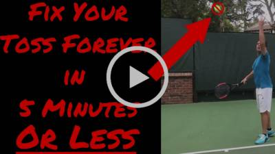 Are you sabotaging your serve?