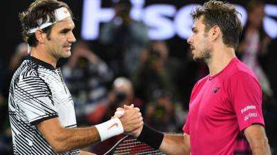 Roger Federer: 'It's always funny to party with Stan Wawrinka'