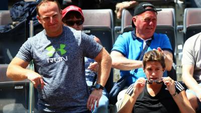 Matt Little gives insight on how it looks to sit in Andy Murray's box