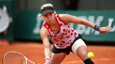 Bethanie Mattek-Sands features on Cover Page of Magazine!