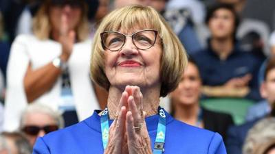 Margaret Court: 'My 24 Slam titles will probably go. Even Federer is on 19'